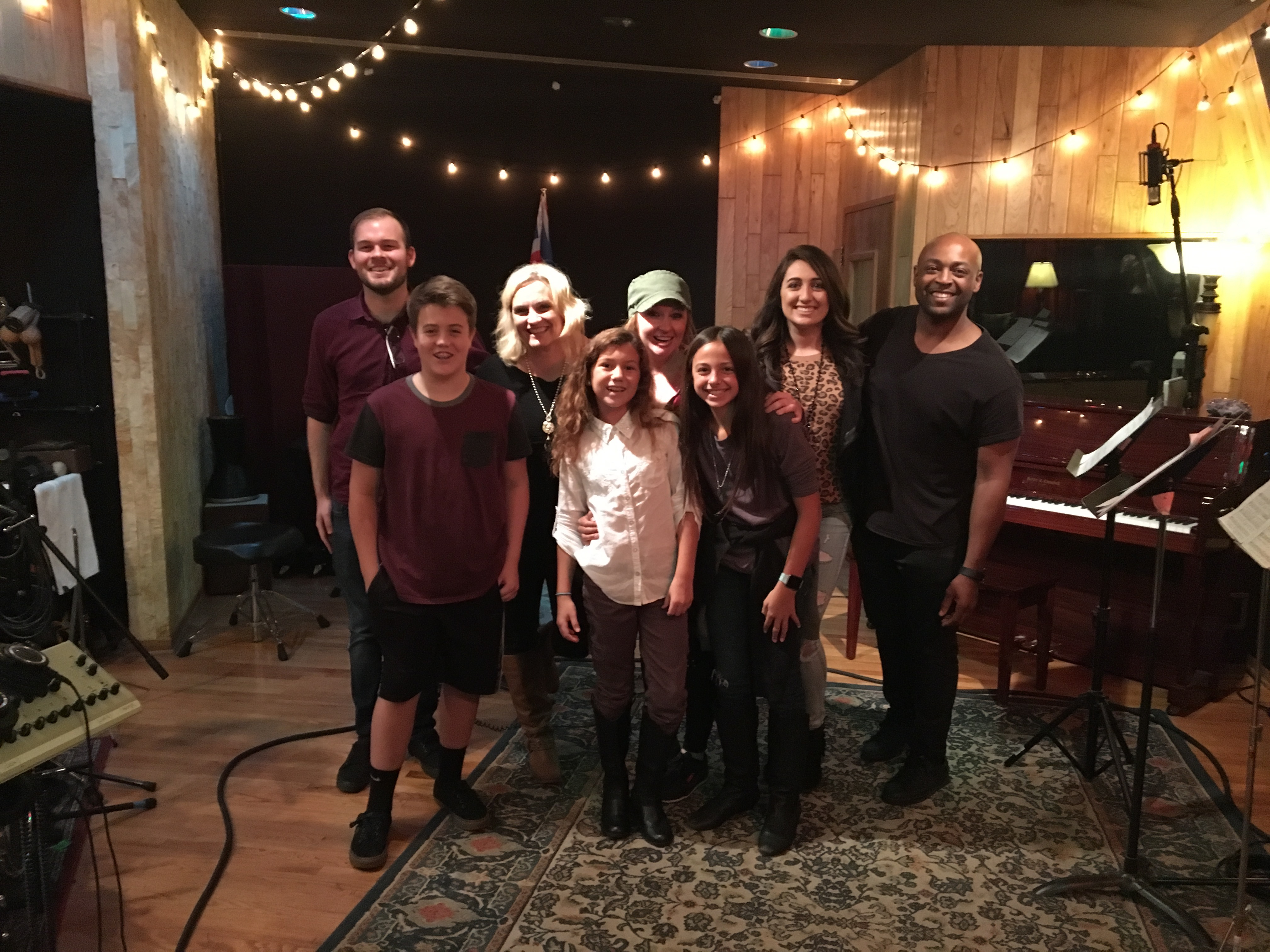 Caleigh Madison: The Flash Recording Session Group